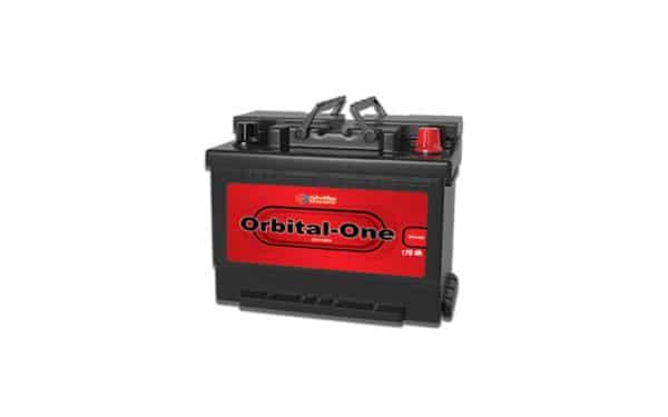 قیمت باتری اوربیتال وان 170 آمپر قرمز سپاهان