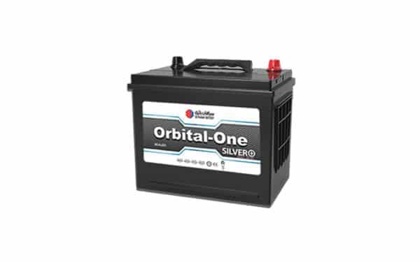 قیمت خرید باتری 60 آمپر پایه بلند قطب مخالف اوربیتال وان سیلور پلاس L2